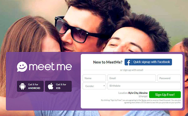Meetme account temporarily blocked